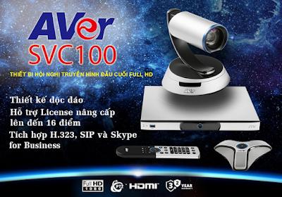 thiết bị hội nghị truyền hình AVer SVC100