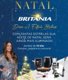 Cadastrar Promoção Natal 2020 Britânia 10 Kits Produtos