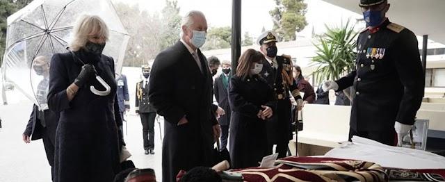Πολύτιμο προσωπικό δώρο στον Πρίγκιπα Κάρολο από την Προεδρική Φρουρά (ΦΩΤΟ)