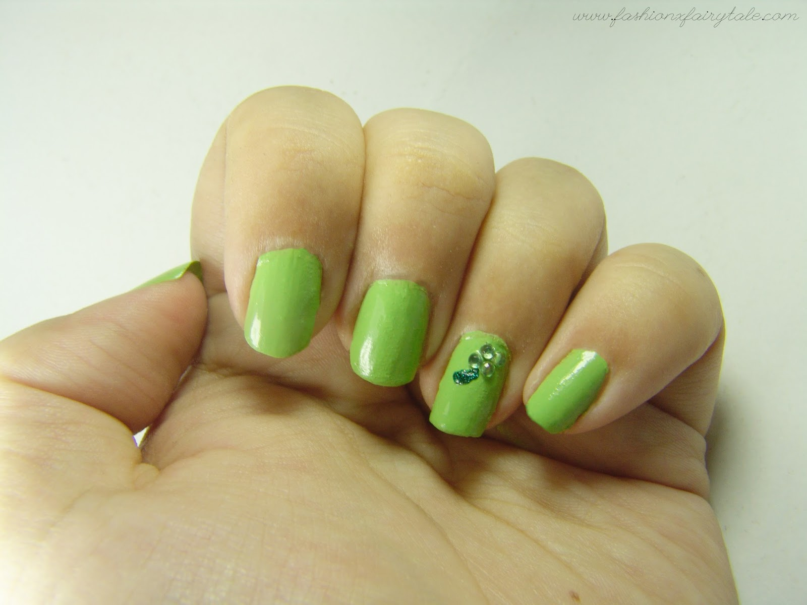 Nails | Four Leaf Clovers Bring Good Luck