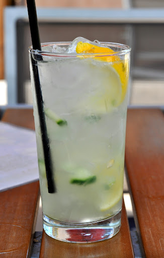 Ginger Cucumber Collins - Gertrude's - Phoenix, AZ | Taste As You Go