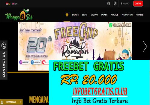 Freebet Gratis MANGGA2BET