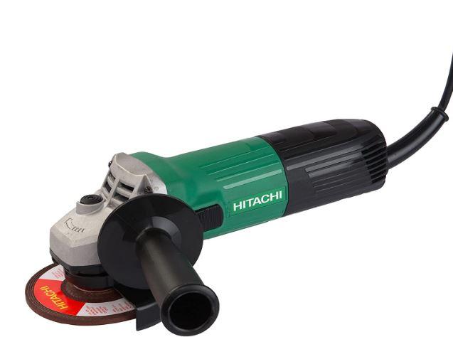 Hitachi G 10 SS2 4-inch Electric Grinder, Green