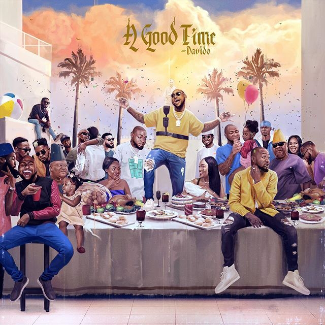 "Davido's ""A Good Time"" Sets Record, Becomes 1st Nigerian Album To Reach No.1 On US Pop Itunes Chart & Top 10 On General Itunes Chart"
