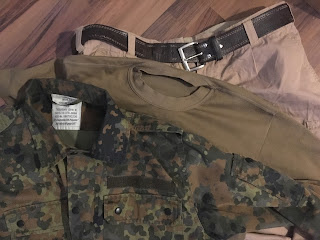 saksalaisia armeijavaatteita