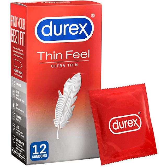 Buy Durex Thin Feel Ultra Thin 12 Pcs Pack Online in Pakistan