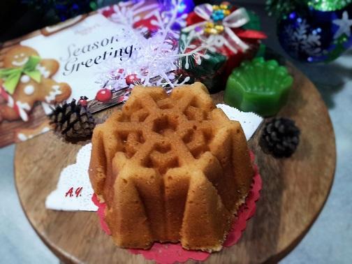 橙酒香牛油蛋糕 Orange Liqueur Butter Cake