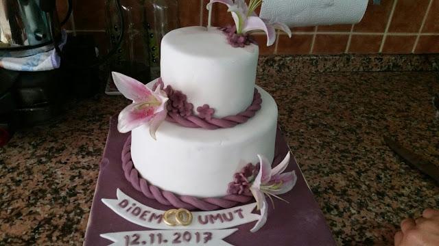 Nişan söz pastası
