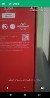 Memindai Quick Response/QR Code (Kode QR) Melalui Kamera HP