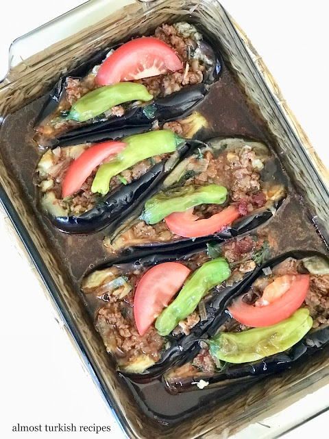 Stuffed Eggplants (Karnıyarık)