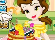 لعبة طبخ البان كيك مع الاميرة