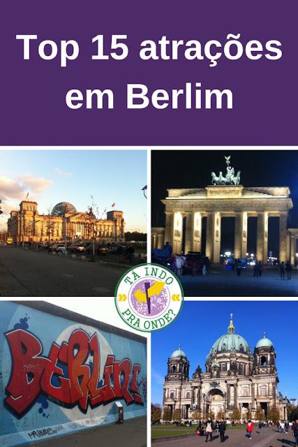 Top 15 atrações e pontos turísticos de Berlim