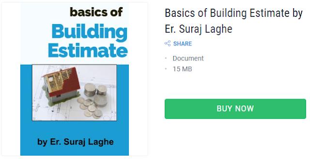 basics of building estimate book by er suraj laghe