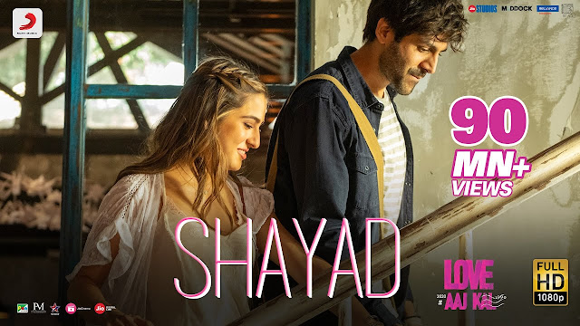 SHAYAD LYRICS IN HINDI - LOVE AAJ KAL 2