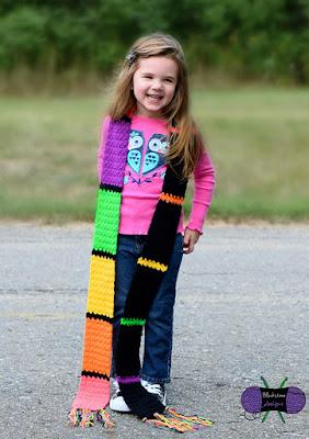 Lorelai Scarf crochet pattern