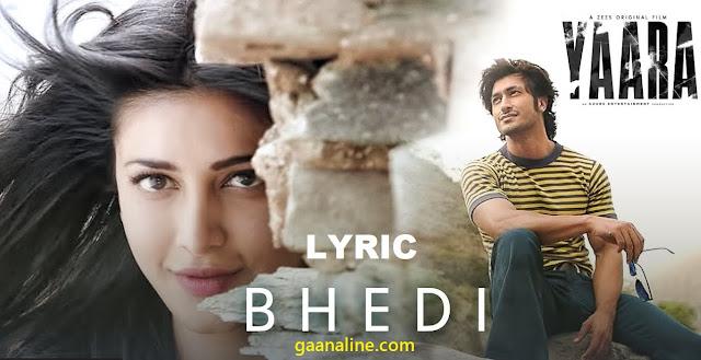 भेदी | Bhedi Hindi Lyrics – Yaara