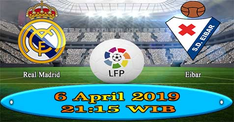 Prediksi Bola855 Real Madrid vs Eibar 6 April 2019