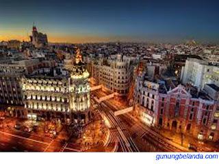 Apakah Madrid Ibu Kota dari Spanyol