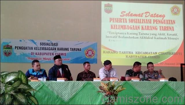 Cihaurbeuti Kecamatan Pertama Gelar Pelatihan Keorganisasian bareng Pemkab