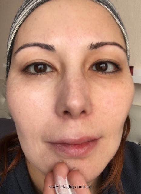 Missha Signature Complexion Coordinating BB Cream white yüzümün sağ tarafında