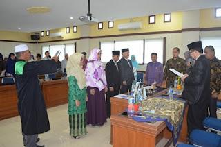 Rektor Lantik Empat Pejabat Baru IAIN Batusangkar