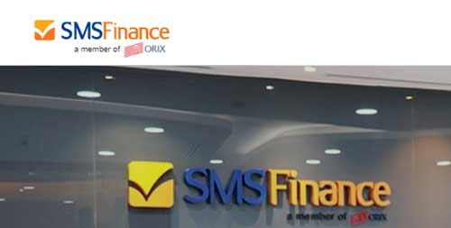 halaman website resmi sms finance