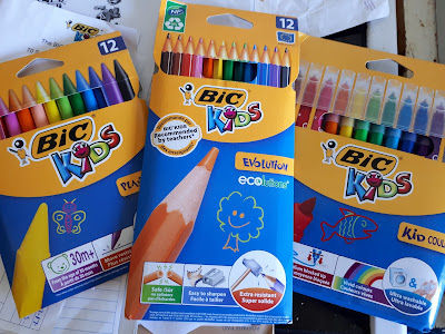 Testing BIC KIDS Pens, Crayons and Pencils