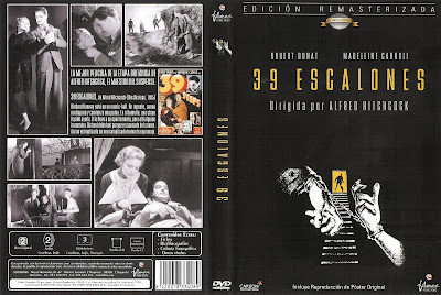 Carátula dvd 2: 39 escalones (1935) The 39 Steps