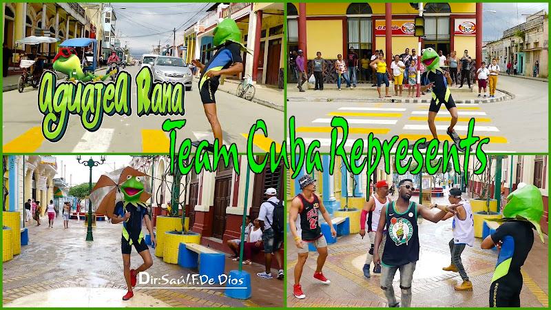 Team Cuba Represents - ¨Aguajea Rana¨ - Videoclip - Director: Saúl El Forastero.  El Portal Del Vídeo Clip Cubano