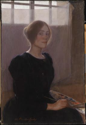 Omakuva taiteilijana 1901