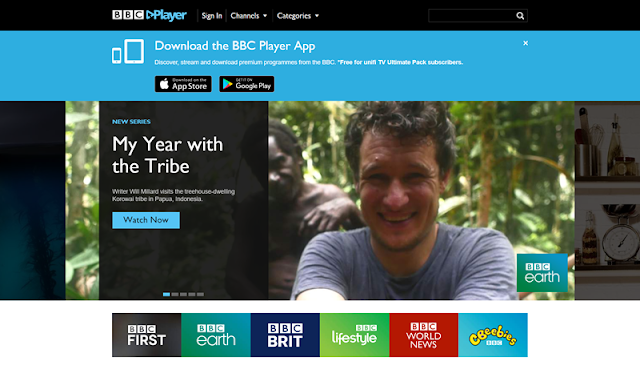 BBC PLAYER Download Apple's App Store or Google Play Store