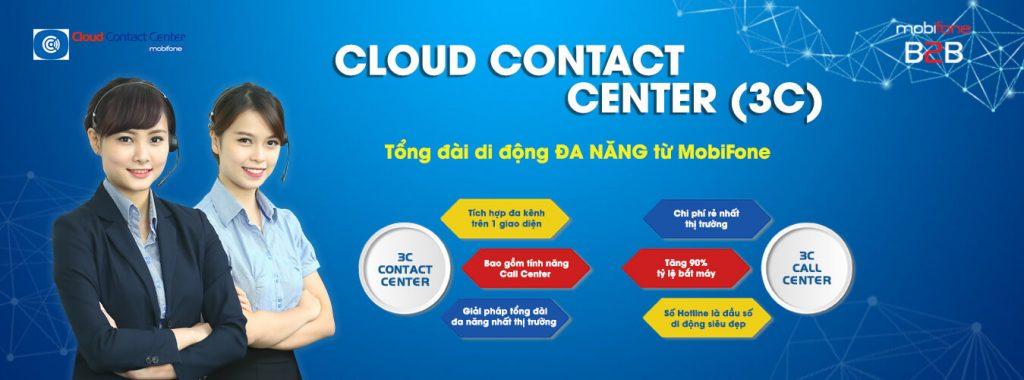Giải pháp Tổng đài di động - Cloud Contact Center(3C)