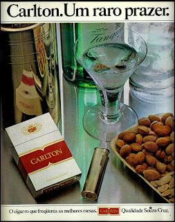 propaganda cigarros anos 70; oswaldo hernandez;