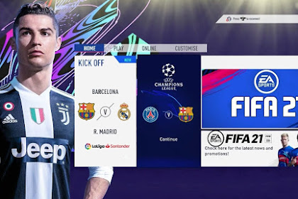 FIFA 21 MOD FIFA 14 Android Offline DATA Latest Transfer Update Section All Transfer Update