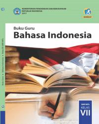 Buku bahasa indonesia Guru Kelas 7 k13 2017