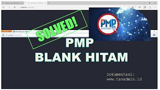Solusi cara mengatasi aplikasi PMP offline blank setelah update