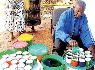 Afbeeldingsresultaat voor pombe magufuli akinywa kikombe cha babu