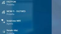 Nascondere e bloccare reti Wifi non usate su PC