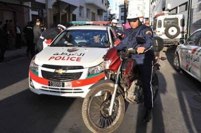 """خطير: عصابة """"ملثمة"""" في عملية سطو مثيرة على سيارة نقل الأموال من أمام وكالة بنكية  وسط استنفار أمني كبير"""