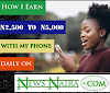 NewsNaira income program - Read news, Get paid