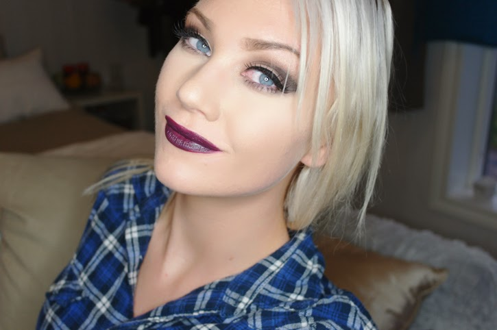 A picture of miss delirium with Mac Cyber Lipstick