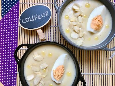 Crema de coliflor
