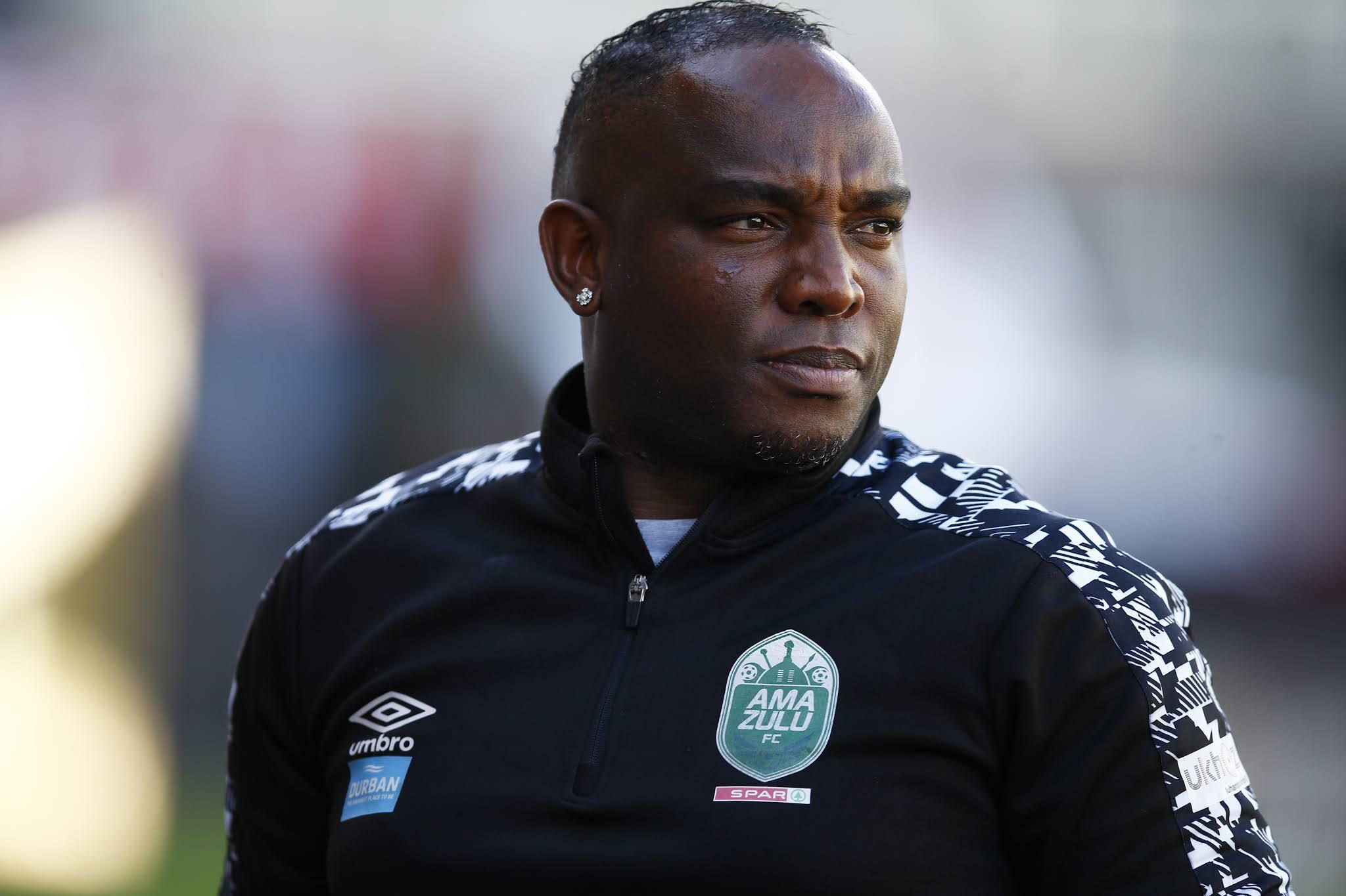 AmaZulu coach Benni McCarthy