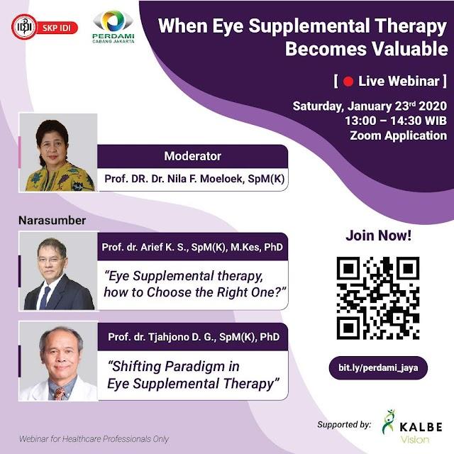 "Gratis SKP IDI Webinar ""When Eye Supplemental Therapy Becomes Valuable"""
