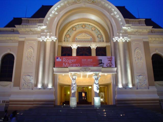 Teatro de la Opera. Ciudad de Ho Chi Minh