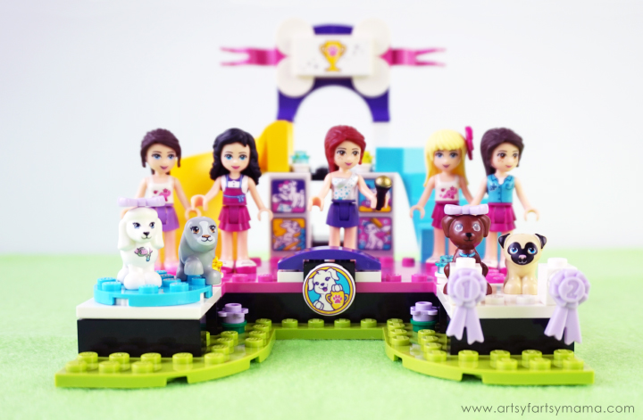 Create your very own dog show with the LEGO Friends Puppy Championship set and learn the different dog breeds with a Free Printable Dog Breed Word Search!