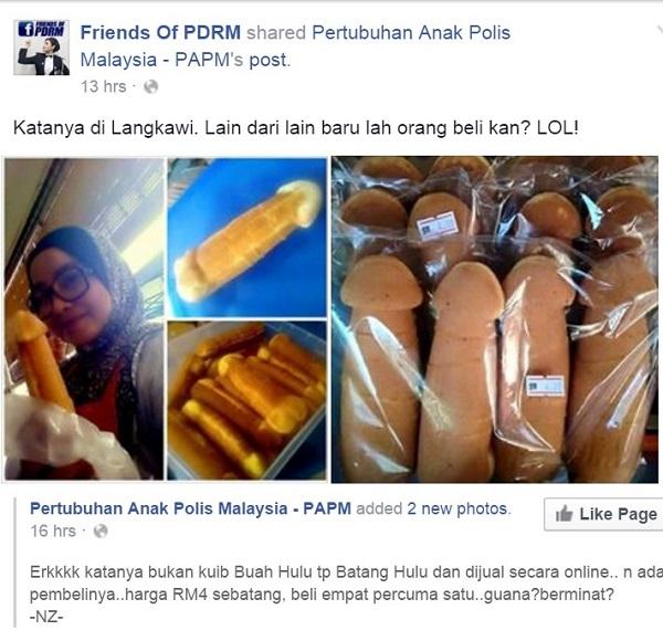Kuih Bahulu Berbentuk Zakar Dijual Di Langkawi?