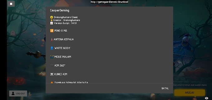 Cheat Free Fire V14.1.0 GameGuardian Root/No Root