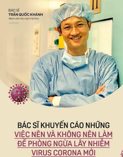 Nên và không nên để phòng tránh đại dịch virus Corona Vũ Hán