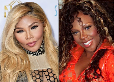 , This is Lil Kim's faces After The Surgery, Latest Nigeria News, Daily Devotionals & Celebrity Gossips - Chidispalace